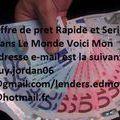 Offre de prêt Entre Particulier : guy.jordan06@gmail.com/ lenders.edmond@hotmail.fr - image 1