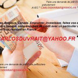 Offre de prêt entre particuliers rapide et fiable | Carlosduvrait@yaho