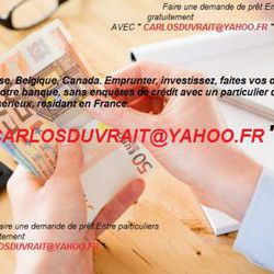 Obtenez vos crédits en 72 heures // Carlosduvrait@yahoo.fr
