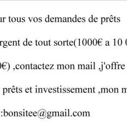 Offre de prêt entre particulier sérieux en Guyane,Guyane.fr,prêt urgen