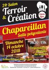 Evénements, sorties sur Chapareillan : Salon Terroir et Création 2018