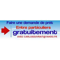 carlosduvrait@yahoo.fr | Offre de prêt entre particuliers - petite ann