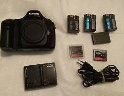 je mets en vente mon appareil photo CANON EOS 5D Mark II 21,1 Mpix App